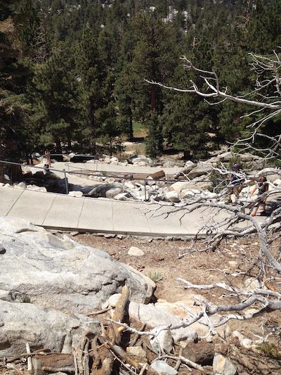 View from Mount San Jacinto State Park - JL Crosswhite book research for Special Assignment